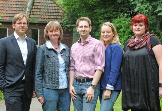 Das Team des Lehrstuhl für Landespolitik in Nordrhein-Westfalen