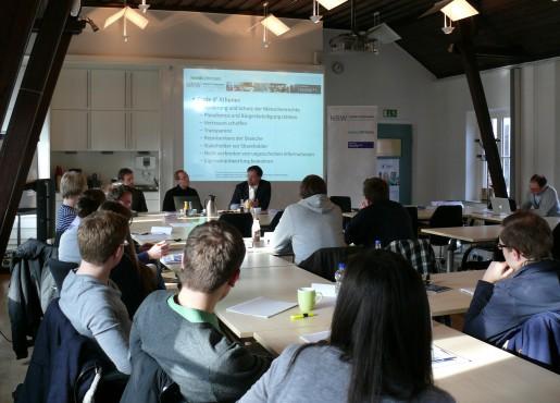 Heiko Kretschmer zu Gast im Haniel Master Course am 24.01.2012