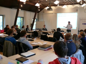 Studierende des MA Politikmanagement im Haniel Master Course