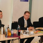 Impressionen des Besuchs von Stephan Gemkow