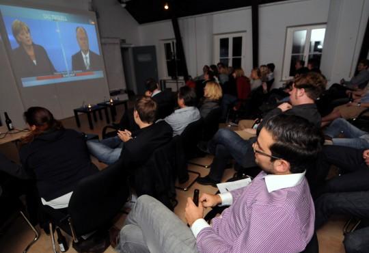 Das Academic-Viewing zum TV-Duell 2013