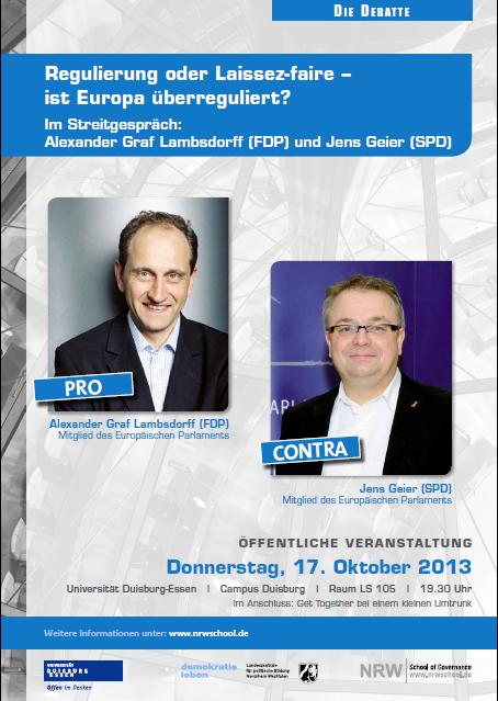 Die Debatte findet am 17. Oktober statt