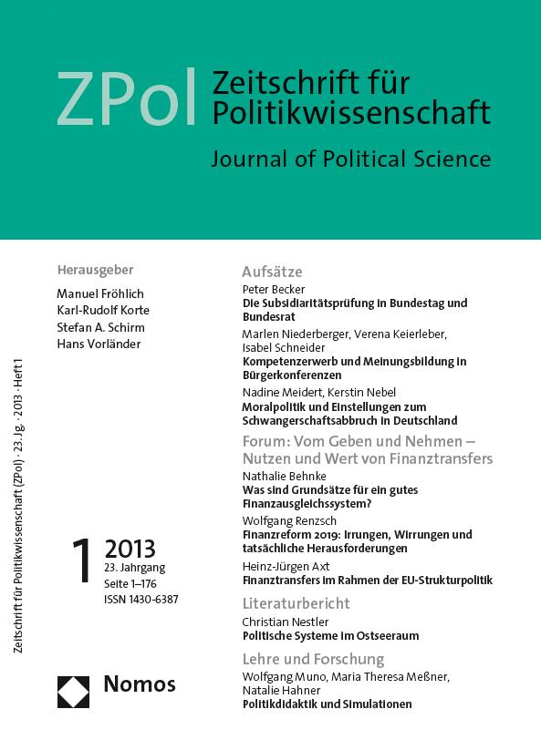 ZPOL Ausgabe 1/2013