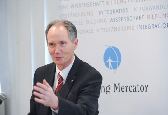 Prof. Dr. Ulrich Radtke, Rektor der Universität Duisburg-Essen, begrüßte Jutta Limbach.