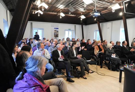 Großer Andrang: rund 100 Gäste folgten den Ausführungen von Gastprofessorin Limbach