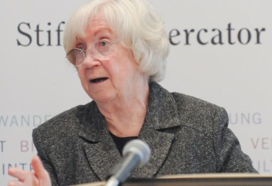 Das Wahlrecht werde auch in Zukunft noch ein Thema für das Bundesverfassungsgericht sein, so Jutta Limbach