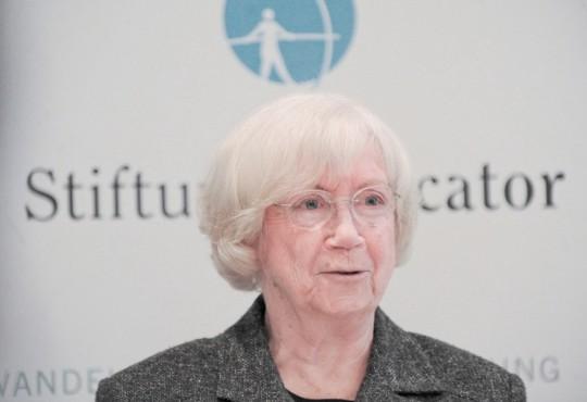 """Gastprofessorin Jutta Limbach referierte am 22. Januar 2014 zum Thema: """"Ist die Bundesrepublik Deutschland eine Richter-Republik?"""""""