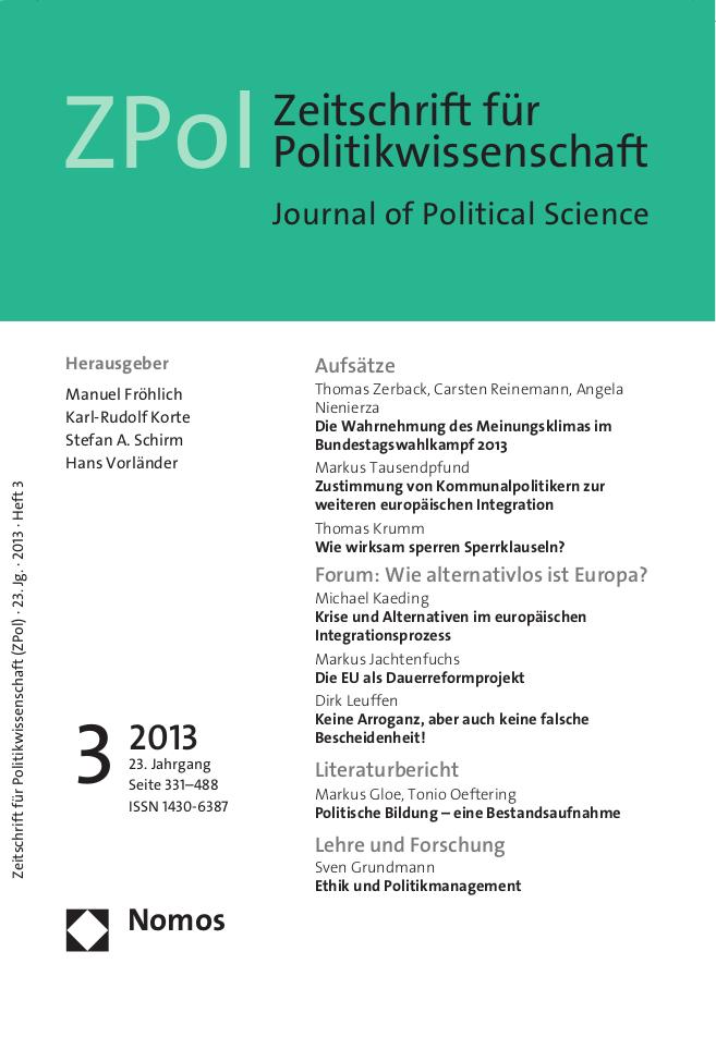 ZPol Ausgabe 3/2013
