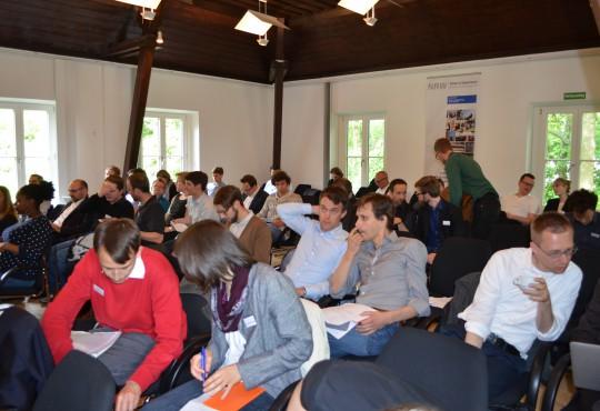 Großer Andrang: Rund 75 Forscherinnen und Forscher nahmen an der Sektions-Tagung teil.