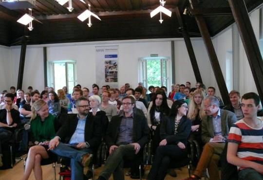 Volles Haus: Rund 100 Gäste verfolgten die Veranstaltung