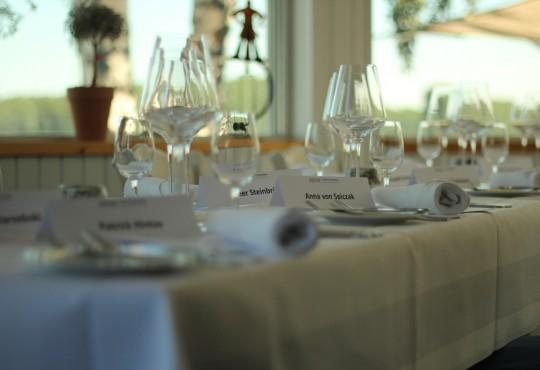 Die Speicherei in Duisburg Homberg stellte den Rahmen für das erste Alumni-Dinner der NRW School of Governance