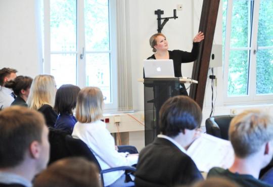 Anna von Spiczak analysierte das Ergebnis der Duisburger Kommunalwahl