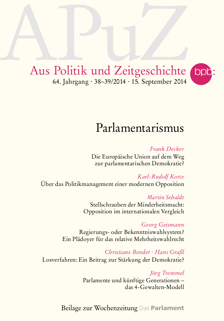 APuZ - Parlamentarismus