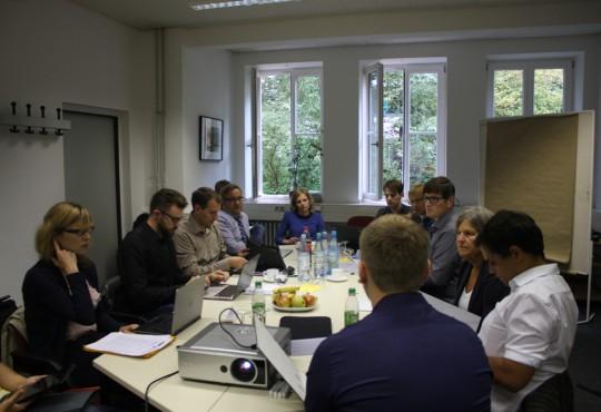 In kleinen Arbeitsgruppen wurde themenspezifisch diskutiert.
