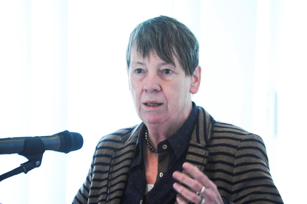 Detaillierte Einblicke in ihr Politikmanagement lieferte Bundesministerin Hendricks am Beispiel der Klimakonferenzen in Lima.