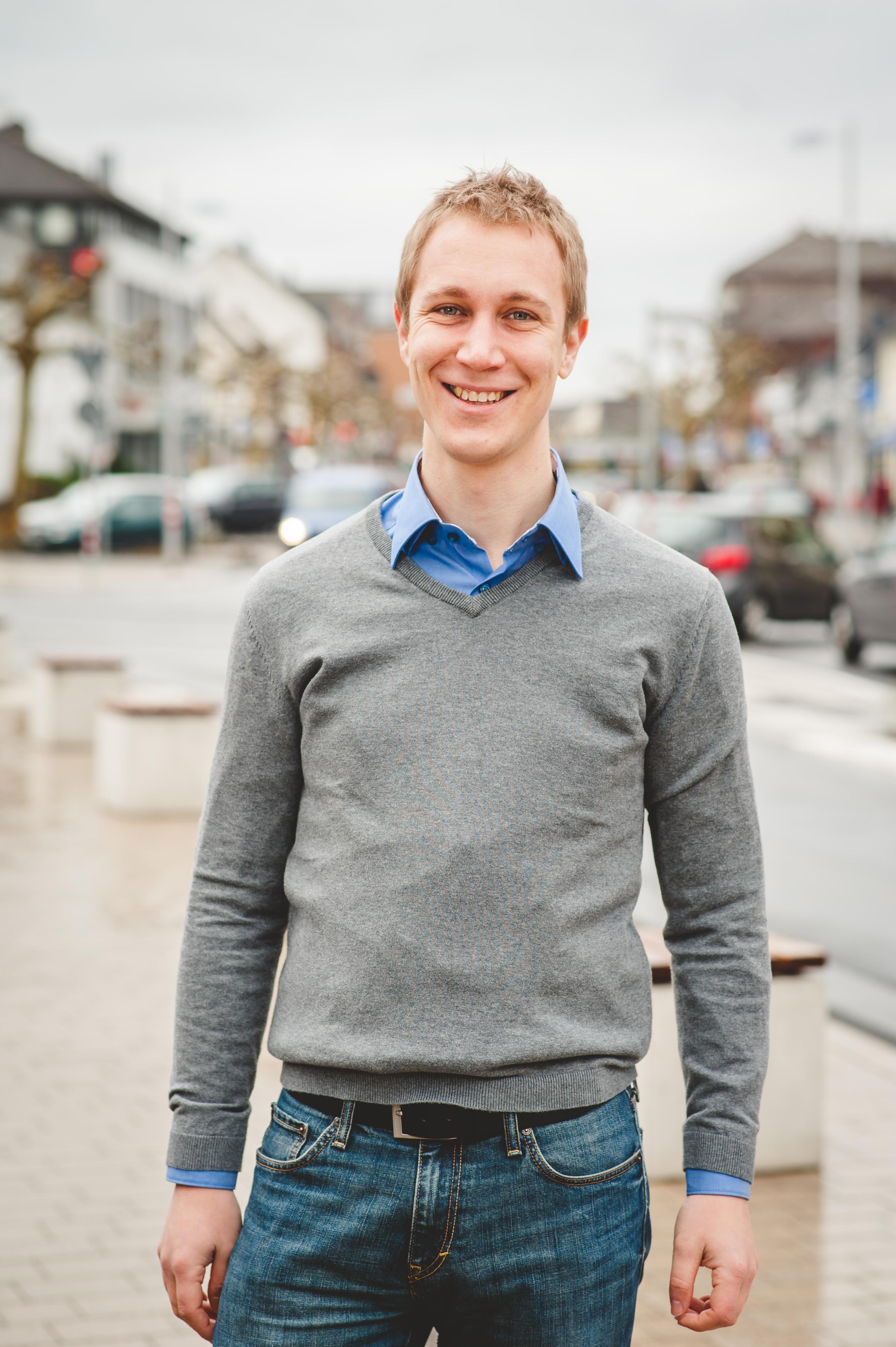 Daniel Zimmermann, Bürgermeister der Stadt Monheim am Rhein