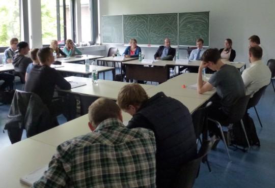 Diskussion im Seminar Parteien und Parteiensysteme