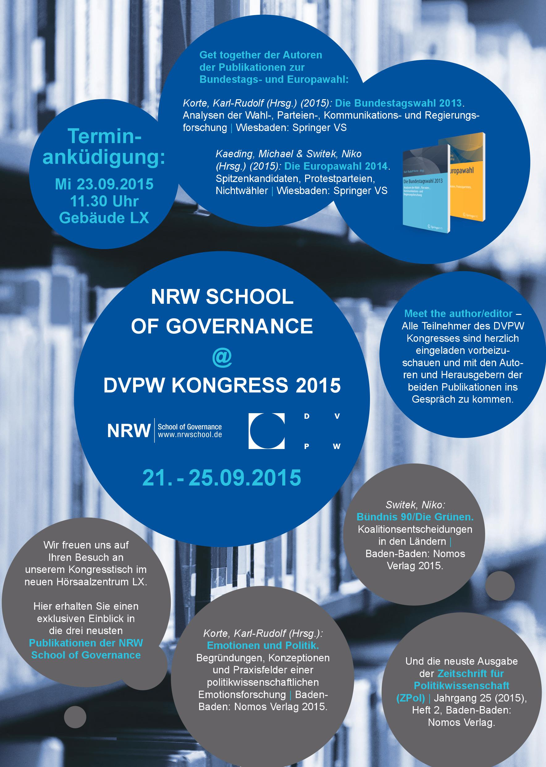 NRW School @ DVPW Kongress 2015 (2)