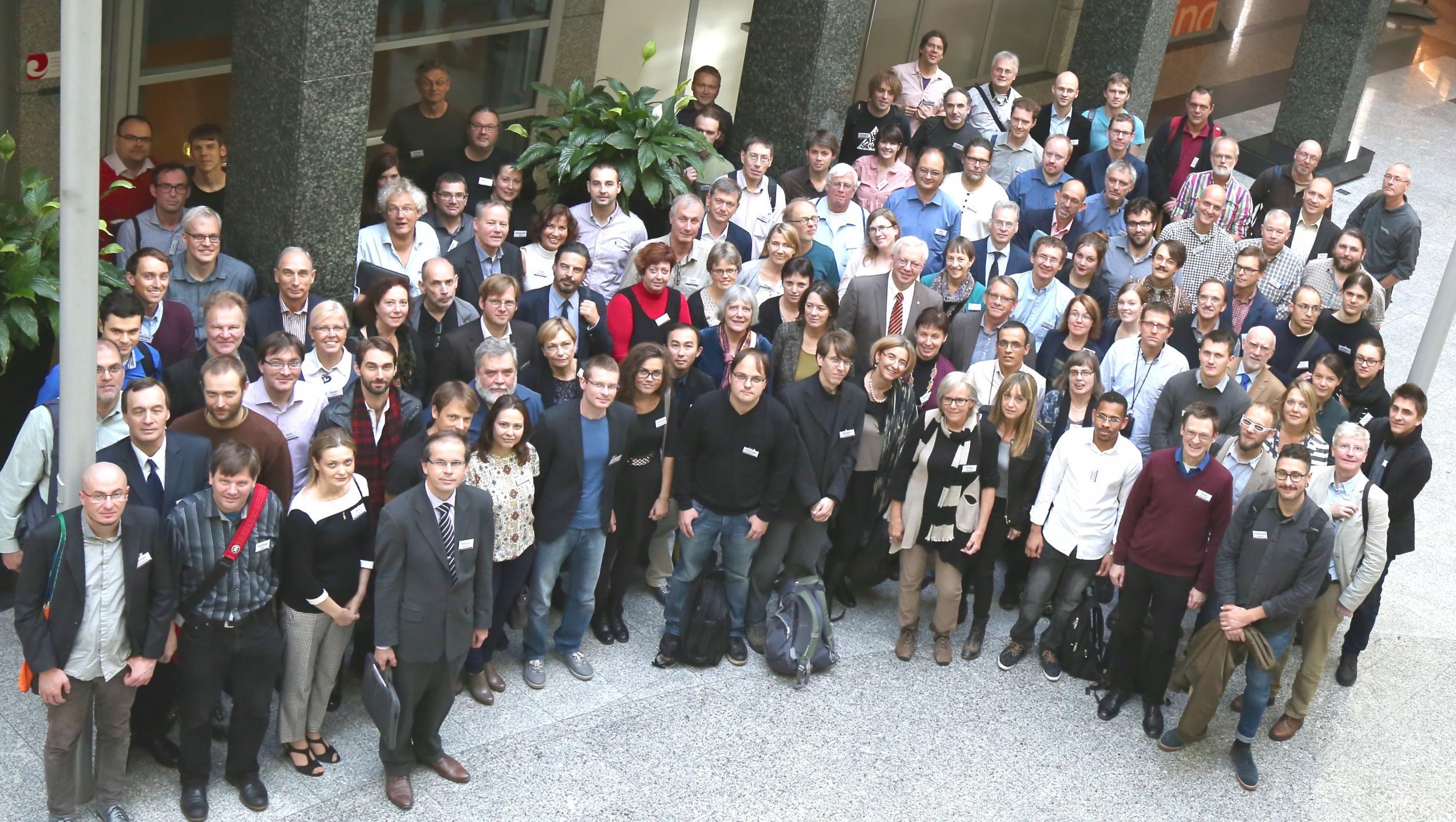 Die Teilnehmerinnen und Teilnehmer der CLARIN Annual Conference 2015