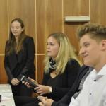 Schülerinnen und Schüler des Gymnasiums in den Filder-Benden