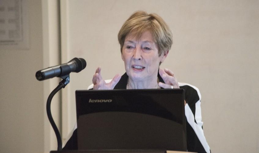 """""""Wir müssen das Thema der sexualisierten Gewalt an Kindern vom Rand in den Mainstream holen"""", so Bergmann."""