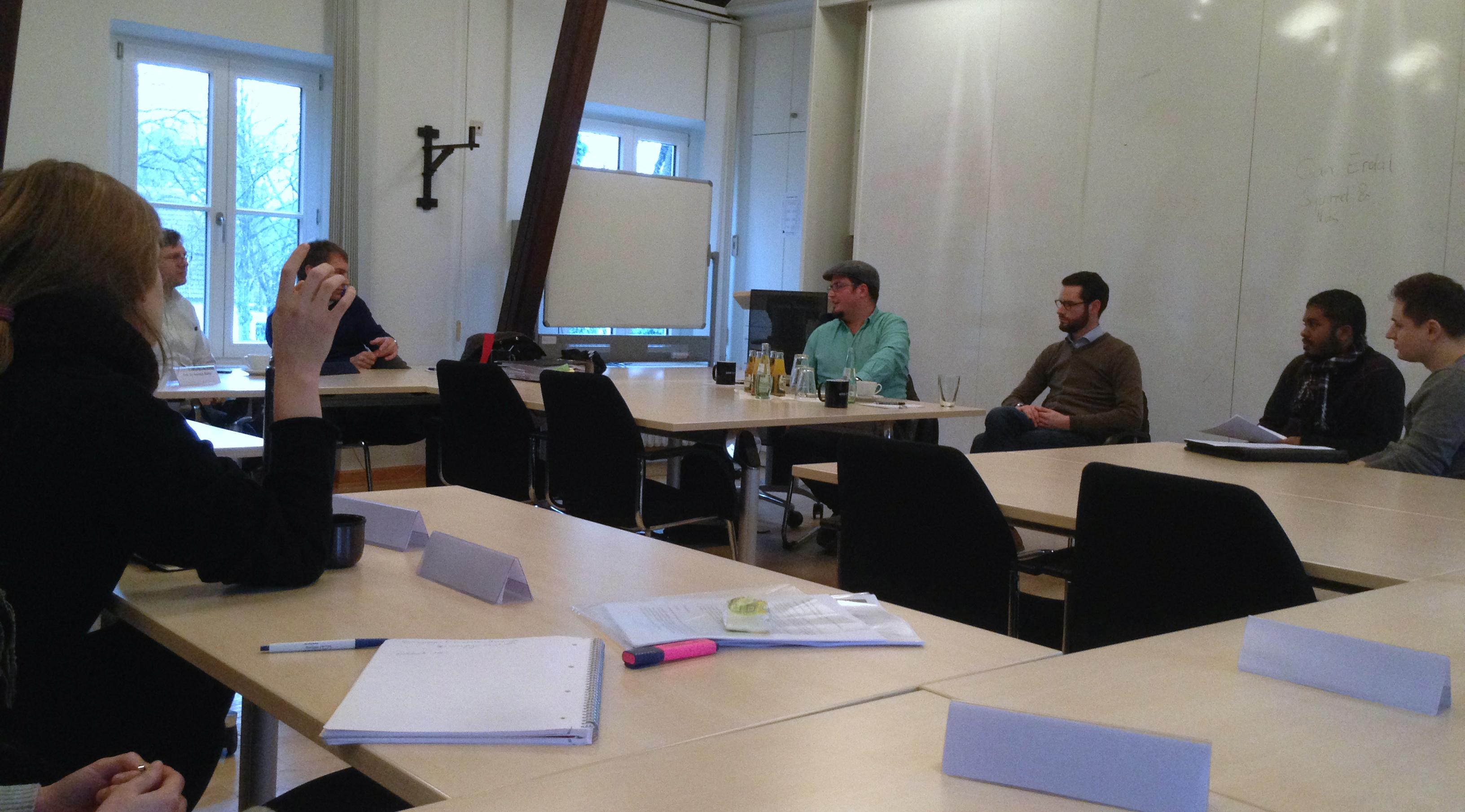 """Diskussionsrunde mit Agenturvertretern in der """"Taskforce Praktisches Politikmanagement"""""""