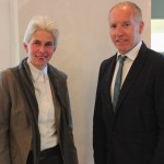 Dr. Marie-Agnes Strack-Zimmermann (l.) und Prof. Karl-Rudolf Korte (r.)
