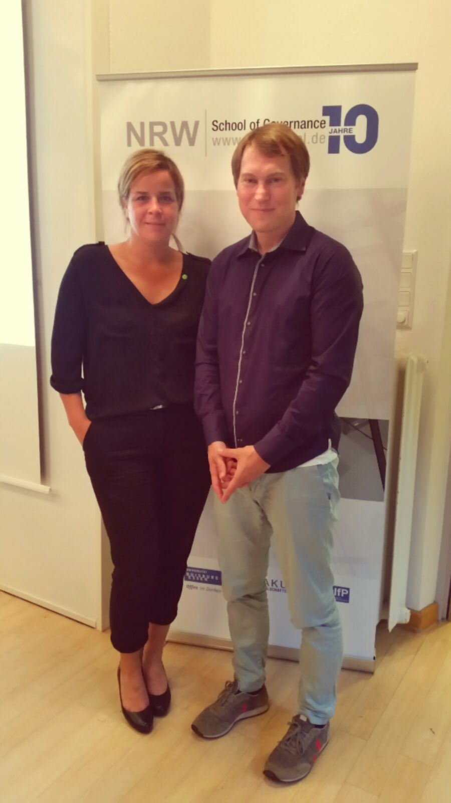 Mona Neubaur und Dr. Niko Switek