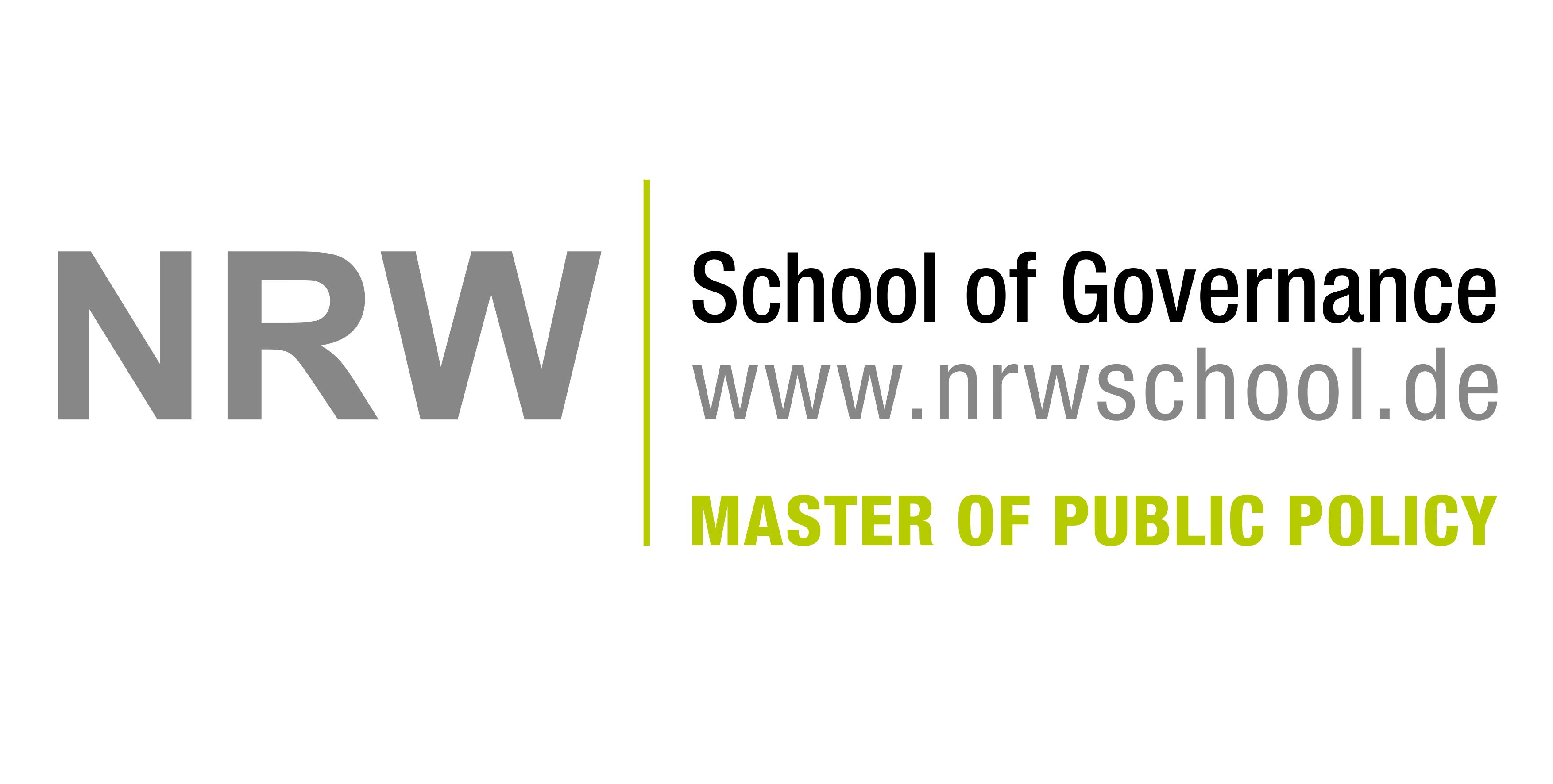 Berufsbegleitender Master of Public Policy