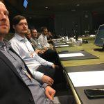 Dort ging es um die Organisation von Gipfeltreffen und das Thema Migration.