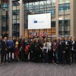 Auch ein Besuch beim Europäischen Rat stand auf dem Programm.