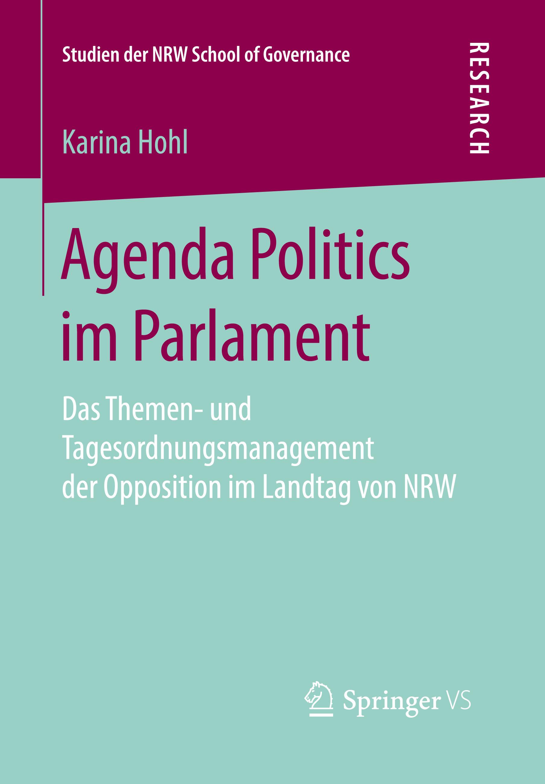 Agenda Politics im Parlament (Karina Hohl)