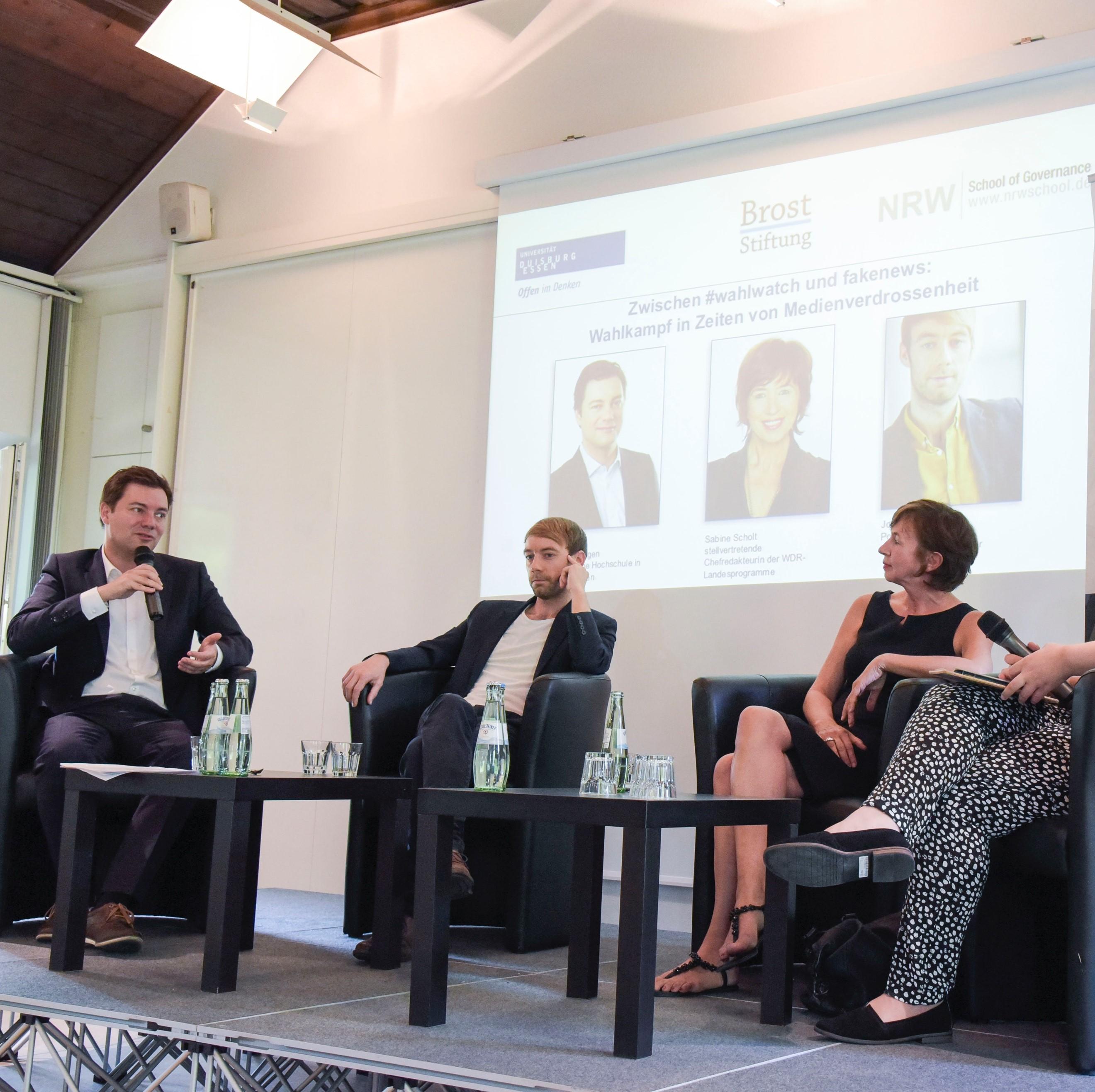 Matthias Degen, Sabine Scholt und Johannes Hillje