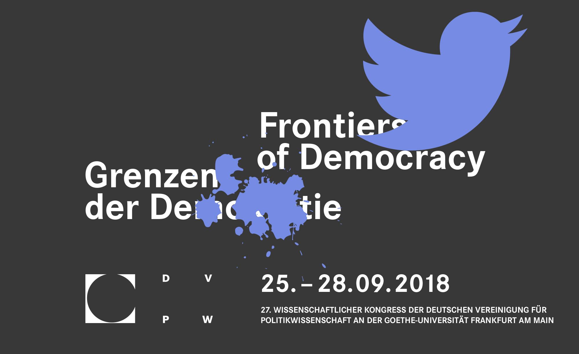 Veranstaltungslogo DVPW-Kongress 2018