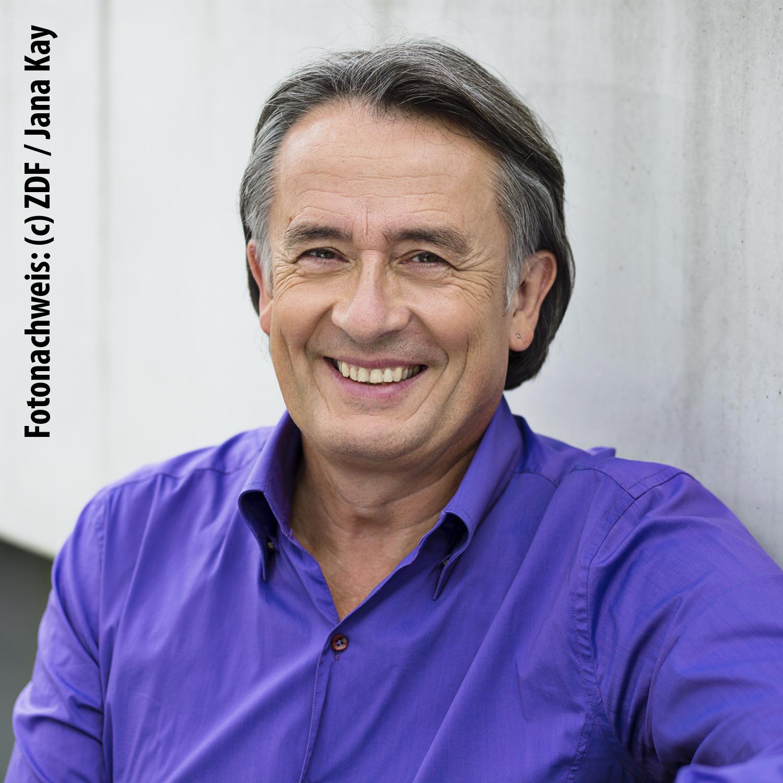 Prof. Gert Scobel (c) ZDF / Jana Kay